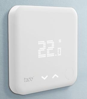 Termostato inteligente integrable en domótica Tado