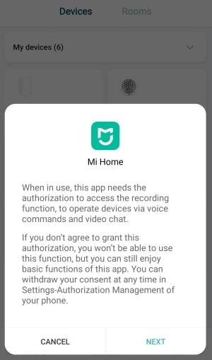 Xiaomi Mi Home - Control por voz